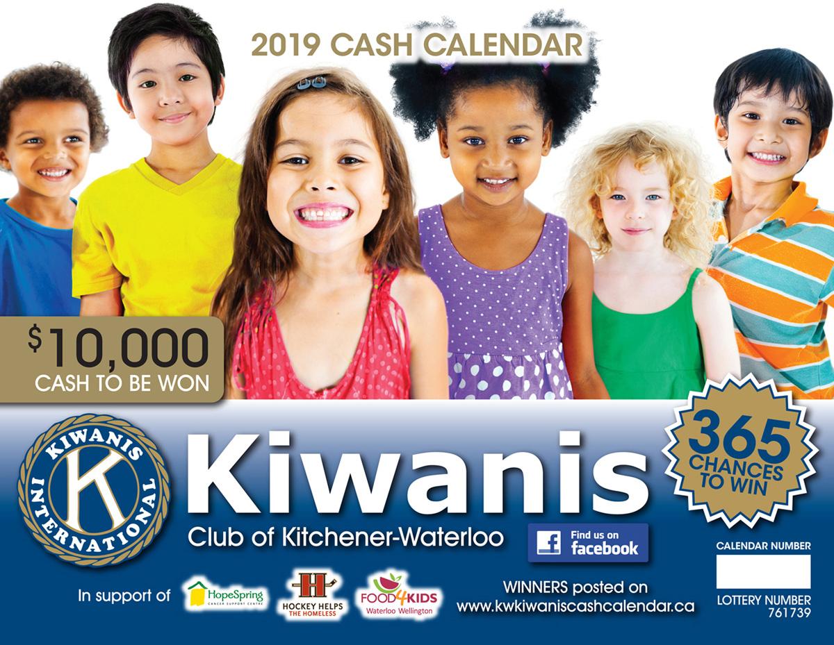 Kiwanis Calendar Cover